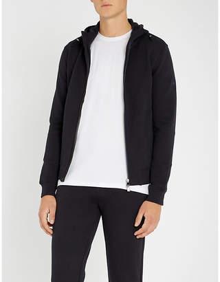 Corneliani Textured cotton-jersey hoody