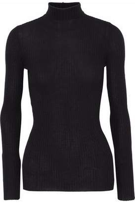 Jil Sander Ribbed Cashmere And Silk-Blend Sweater