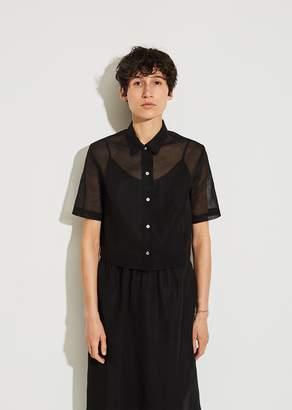 La Garçonne Moderne Portrait Crop Shirt
