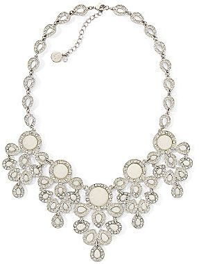 "Liz Claiborne 16"" Bridal Statement Necklace"