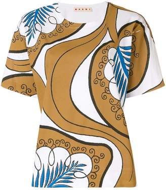 Marni patterned blouse