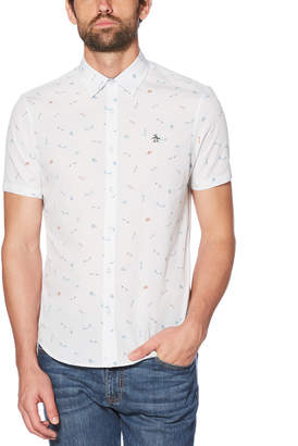 Original Penguin SKATE PRINT SHIRT