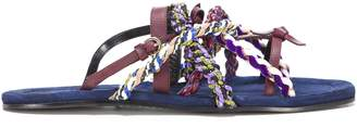 Carven Elba Flat Sandals