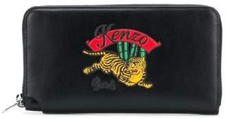 Kenzo embroidered logo purse