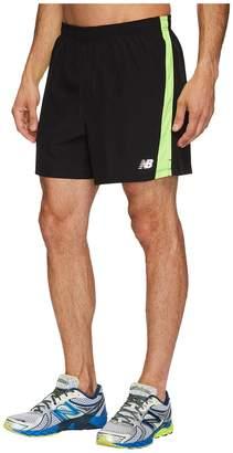 New Balance Accelerate 5 Shorts w/ Brief Men's Shorts