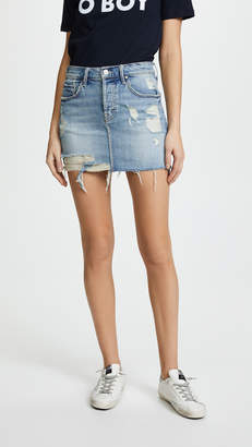 Mother The Vagabond Mini Fray Jeans