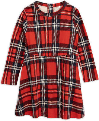 Mini Rodini Plaid Long Sleeve Dress