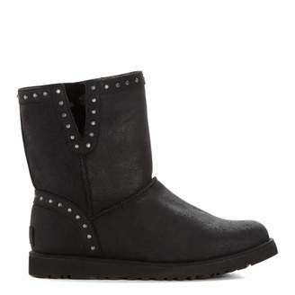 Black Suede Classic Cyd Ankle Boots