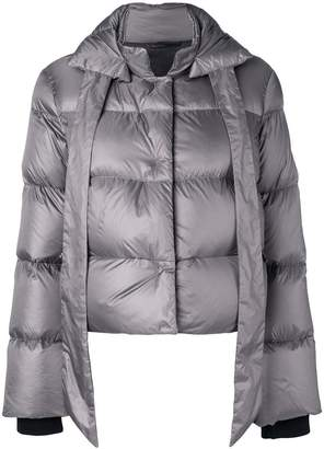 Fay bow tie puffer jacket