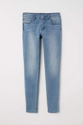 H&M Slim-fit Pants - Light denim blue - Women