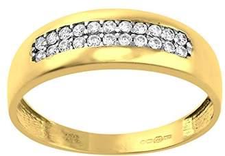 b29761b7ab24d Cubic Zirconia Rings Yellow Gold - ShopStyle UK