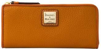 Dooney & Bourke Pebble Grain Zip Clutch