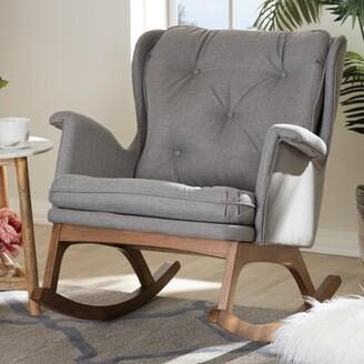 Hanson Canora Grey Rocking Chair Canora Grey