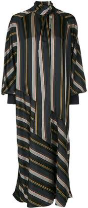 Roksanda striped midi dress