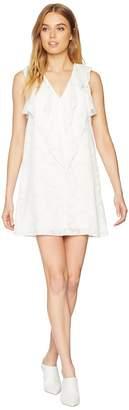 BCBGeneration Ruffle Front A-Line Dress Women's Dress