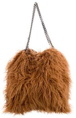 Stella McCartney Falabella Faux-Fur Shoulder Bag