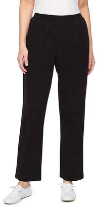 Alfred Dunner At Ease French Terry Pull-On Pants