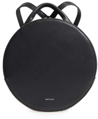 Matt & Nat Kiara Faux Leather Circle Backpack