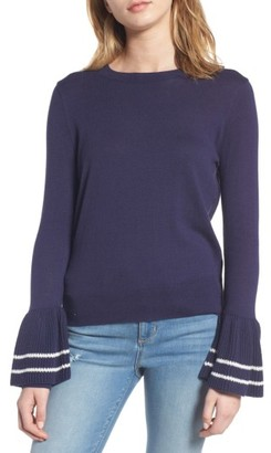 Women's Bp. Ruffle Bell Cuff Sweater $49 thestylecure.com