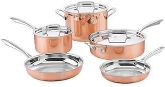 Cuisinart Copper Collection Tri-Ply Stainless 8-Piece Cookware Set