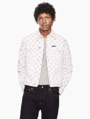 Calvin Klein foundation western trucker jacket