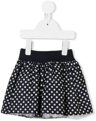 MonnaLisa polka dot printed skirt