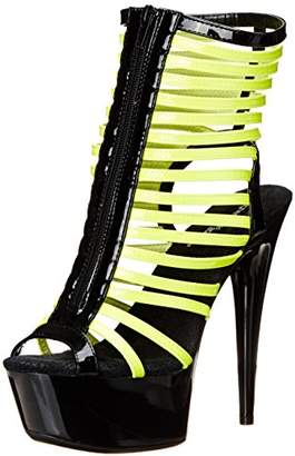 The Highest Heel Women's Glow-131 6 Inch Platform Sandal