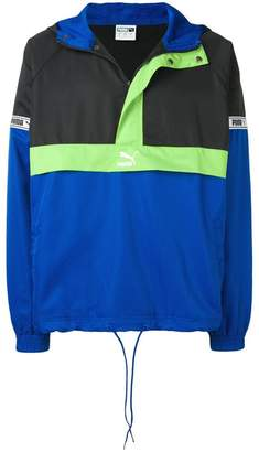 Puma hooded windbreaker jacket