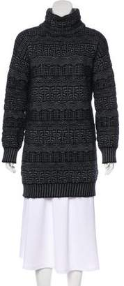Viktor & Rolf Patterned Sweater Dress