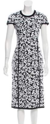 Michael Kors Floral Jacquard Sheath Dress w/ Tags