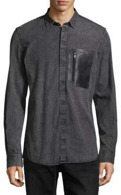 Antony Morato Denim Casual Button-Down Shirt
