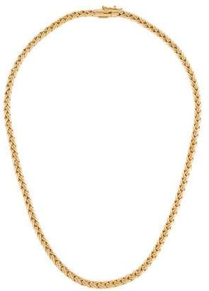 Tiffany & Co. 18K Wheat Chain Necklace