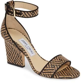 71fad1dd630 Jimmy Choo Beige Ankle Strap Women s Sandals - ShopStyle
