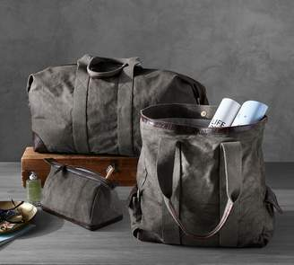 Pottery Barn Union Canvas Travel Collection - Grey