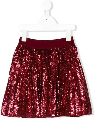 MonnaLisa sequined skirt