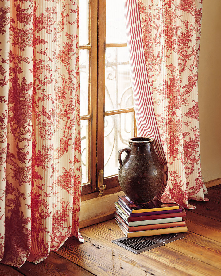 Horchow Toile Curtains