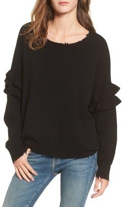 Women's Current/elliott The Ruffle Sweater