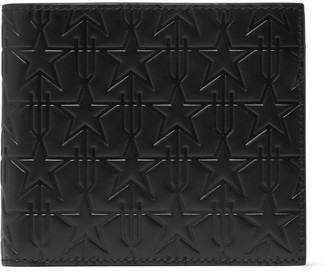 Givenchy Star-Embossed Leather Billfold Wallet $550 thestylecure.com