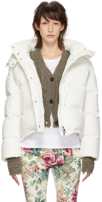 SSENSE Exclusive Off-White Down Poenia Jacket
