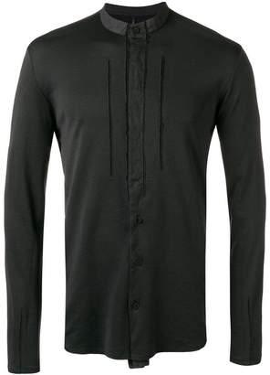 Transit mandarin collar shirt