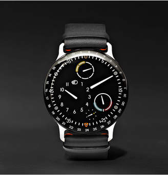 Ressence Type 3 Mechanical 44mm Titanium And Leather Watch