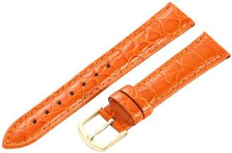 Hadley-Roma 16mm 'Women's' Leather Watch Strap