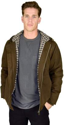Stanley Big & Tall Flannel-Lined Hooded Jacket