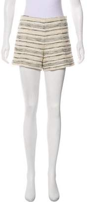 Tory Burch Mid-Rise Mini Shorts