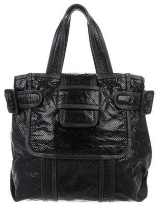 Pierre Hardy Alpha Perforated Leather Tote