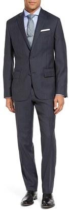 Men's Nordstrom Men's Shop Classic Fit Plaid Wool Suit $499 thestylecure.com