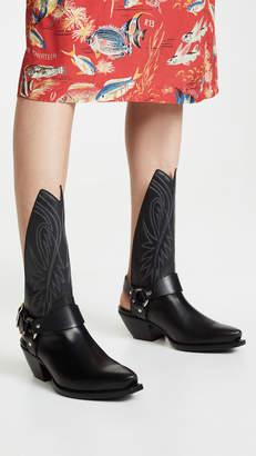R 13 Tall Half Cowboy Boots w/ Harness