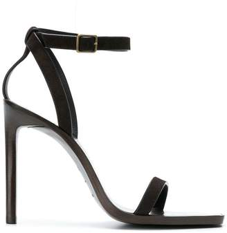 Saint Laurent cut-out detail sandals