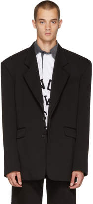 Y/Project Black Double Paneled Blazer