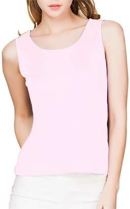 df5d85bbe7 Paradise Silk 100% Silk Knit Women's Sleeveless Tank Top